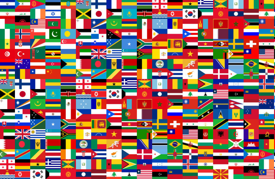 Lunapic Free Online Photo Editor Country Flags